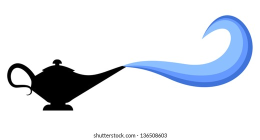 Magic Lamp Icon Images Stock Photos Vectors Shutterstock