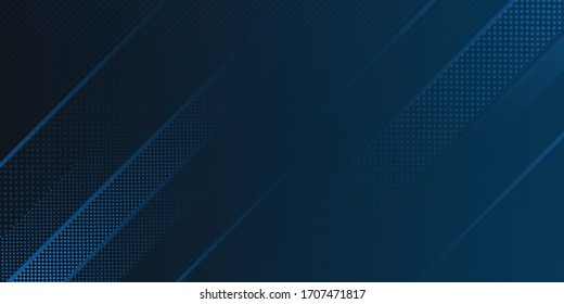 Blue Background. Dark blue abstract background geometry shine and layer element vector for presentation design. Vector design for business, corporate, institution, party, festive, seminar, and talks