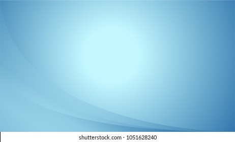 Blue Background With Ligths and Gradient