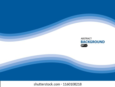 blue background modern.template design