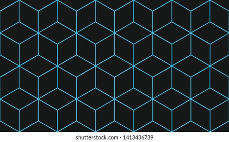 Blue background. For textile, holiday decoration,fabric,cloth,gift paper,prints,decor. Vector illustration