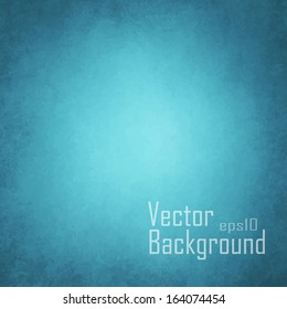 Blue background. Vector.