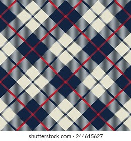 blue and beige fabric texture diagonal little pattern seamless vector illustration