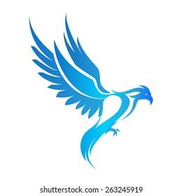 Phoenix Bird Logo Images Stock Photos Vectors Shutterstock