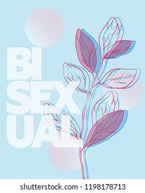 Blue Bisexual poster