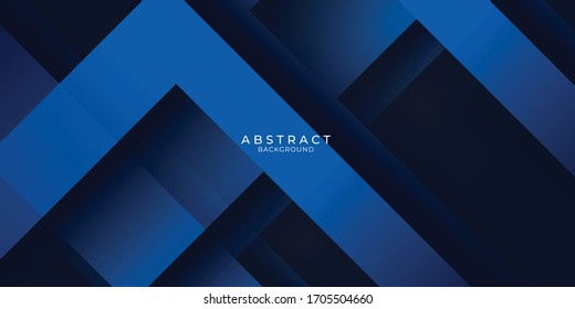 Blue black abstract background geometry shine and layer element vector for presentation design. Suit for business, corporate, institution, party, festive, seminar, and talks