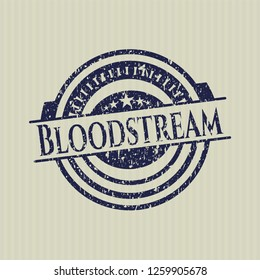 Blue Bloodstream distress with rubber seal texture