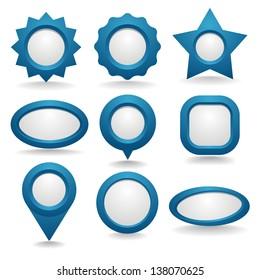 Blue button Collection