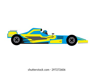 Cartoon F1 Car High Res Stock Images Shutterstock