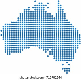 Freehand Australia Map Sketch On White Stock Photo Photo Vector