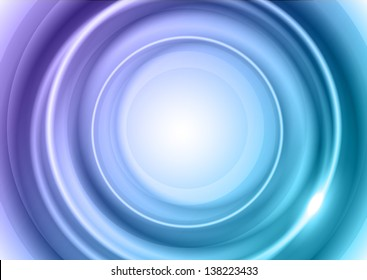 blue circles as abstract background