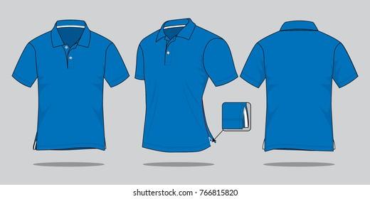 Vectores Imágenes Y Arte Vectorial De Stock Sobre Polo Blue