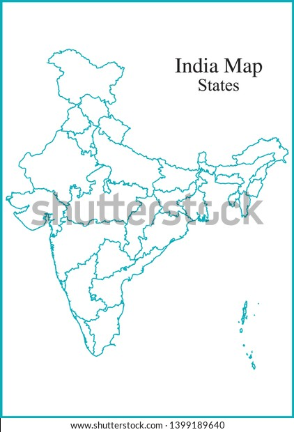 Blue Color Outline India Map All Stock Vector (Royalty Free ... on blue florida map, blue usa map, blue united states map, blue japan map, blue denmark map, blue global map, blue namibia map, blue brazil map, blue world map, blue africa map, blue israel map, blue honduras map, blue france map, blue international map, blue china map, blue south america map, blue bird migration map, blue apple logo, blue uk map,