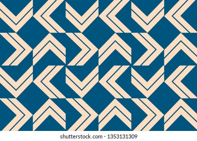 Blue color. For wallpapers, web page background, surface textures, Image for advertising booklets, banners. seamless vector illustration.