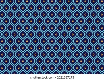 Blue Cyan Pattern Seamless Background Image Stock Vector Download.