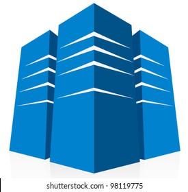 Blue Databank - Server Background