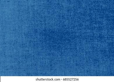 Blue denim jeans texture background. Vector background.
