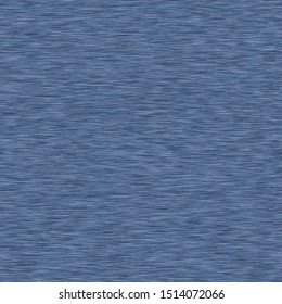 Blue denim marl seamless pattern. Jeans texture fabric textile. Vector cotton melange t shirt all over print.