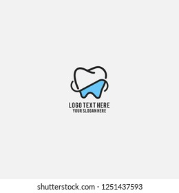 Blue Dentist Logo