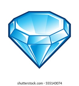 Diamonds Cartoon Images Stock Photos Vectors Shutterstock Learn how to draw cartoon diamond pictures using these outlines or print just for coloring. https www shutterstock com image vector blue diamond icon 555143074