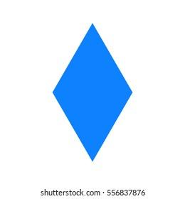 Blue diamonds sign