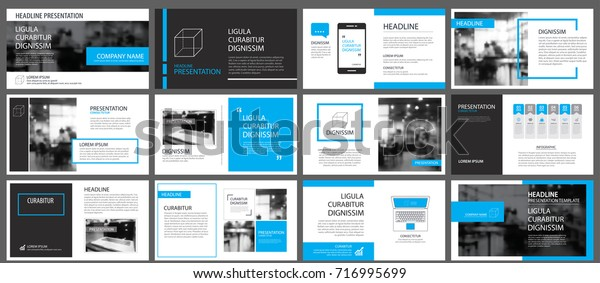 Blue element for slide infographic on background. Presentation template. Use for business annual report, flyer, corporate marketing, leaflet, advertising, brochure, modern style.