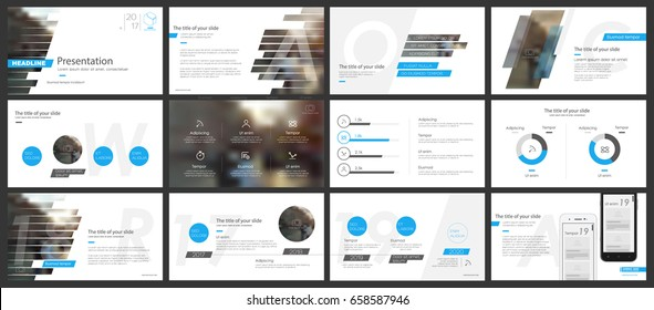 Blue elements of infographics for minimalist design style on a white background. Use in presentation templates, flyer and leaflet, corporate report, marketing, advertising, annual report and banner.