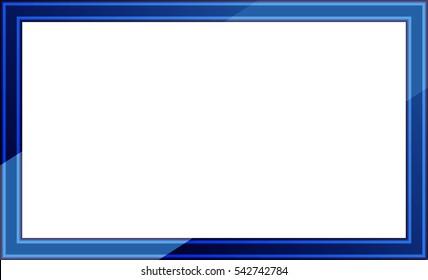 Blue Frame Images Stock Photos Amp Vectors Shutterstock