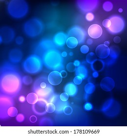 Blue glow background