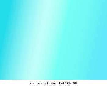 Blue gradient abstract background with soft smooth. vector illustration