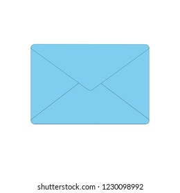 blue gray envelopes for correspondence