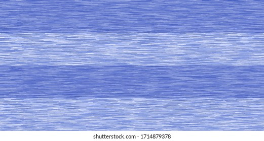 Blue Gray Heather Marl Triblend Melange Seamless Repeat Vector Pattern with Stripes. Swatch. T-shirt fabric texture.