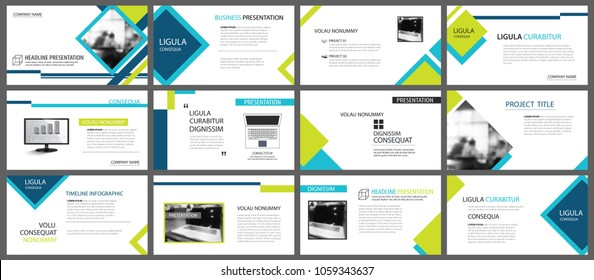Green Powerpoint Presentation Images Stock Photos Vectors