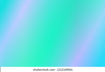 Abstract colourful blurry background. Blue purple and green ombre wallpaper