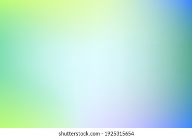 Blue, green, yellow gradient vector background. Delicate illustration in an abstract style. Modern background for your interface, advertising, textrestaurant, cafe, pastry shop.