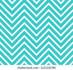 Blue green zigzag shape pattern vector