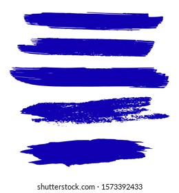 Blue Grunge Brushes. Colorful Brush Graffiti. Watercolor Layer. Distress Wallpaper. Dirty Art Graffiti. Set Of Hand Drawn Indigo Distress Brushes. Batik Brush. Watercolor Painting.