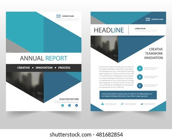 Blue hexagon business Brochure Leaflet Flyer annual report template design, book cover layout design, abstract business presentation template, a4 size design