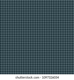 Blue Houndstooth Seamless Pattern - Classic houndstooth pattern in dark and light blue colors