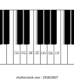 Blue icon with piano keys