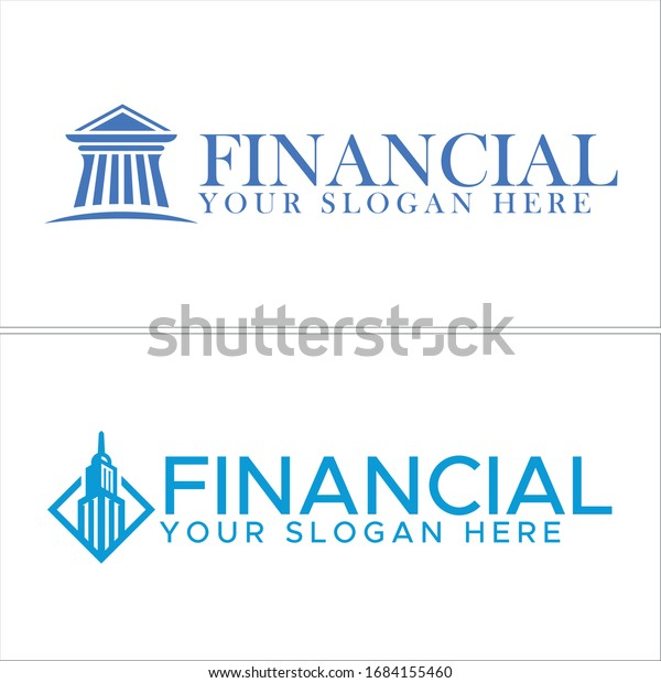 Blue Icon Symbol Modern Logo Design Stock Vector Royalty Free 1684155460