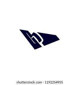 Blue Isolated Vector Stucco Plasterer Logo