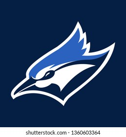 Blue Jay Mascot Sport Logo Design