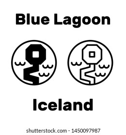 Blue Lagoon tourist attraction in Iceland