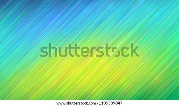 Blue Lime Green Vivid Gradient Stripes Stock Vector Royalty Free 1105389047