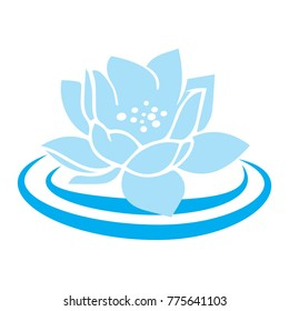 blue lotus waterflower