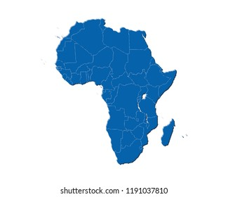 Africa Continent Images, Stock Photos & Vectors | Shutterstock