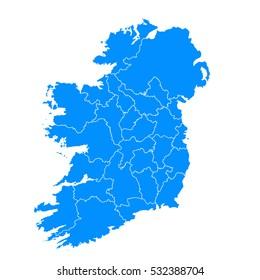 Map Of Ireland In The World.Ireland Map Images Stock Photos Vectors Shutterstock