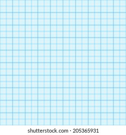 standard a 4 millimeter paper blue stock vector royalty free
