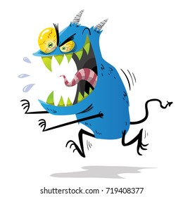 Eating Monsters Images Stock Photos Vectors Shutterstock